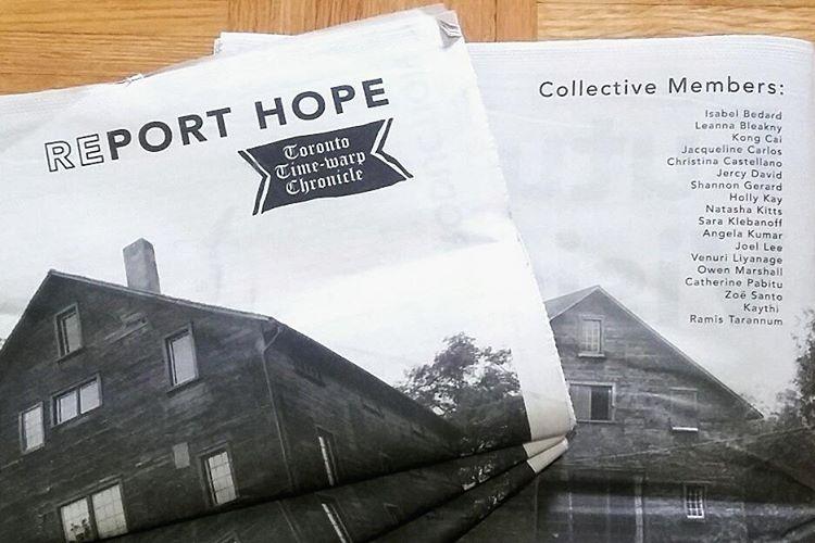 final report hope newspaper